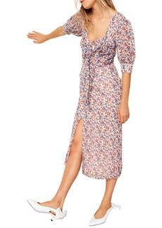 The East Order Sophie Floral Midi Dress