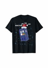 The Great DOCTOR HO HO HO police box Christmas Tee T-Shirt
