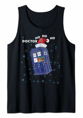 The Great DOCTOR HO HO HO police box Christmas Tee Tank Top