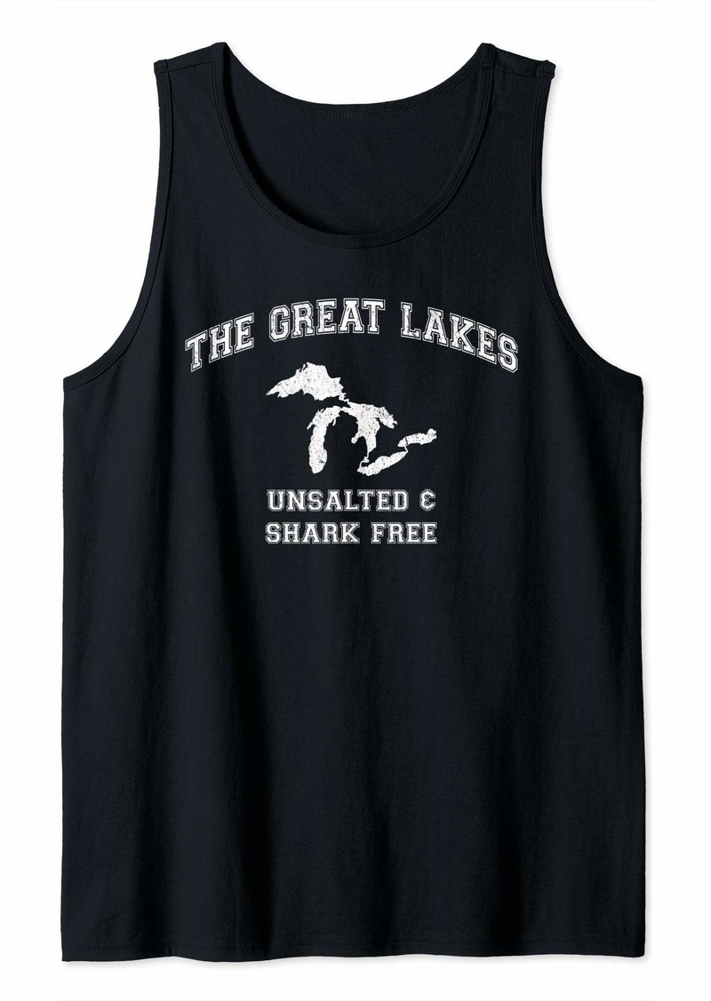 The Great Lakes Unsalted And Shark Free Tank Top