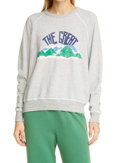 THE GREAT. Mountain The College Sweatshirt