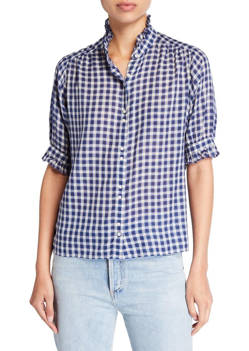 The Great The Cedar Plaid Button-Down Shirt
