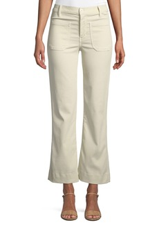 The Great The Cropped Mariner Flare-Leg Pants
