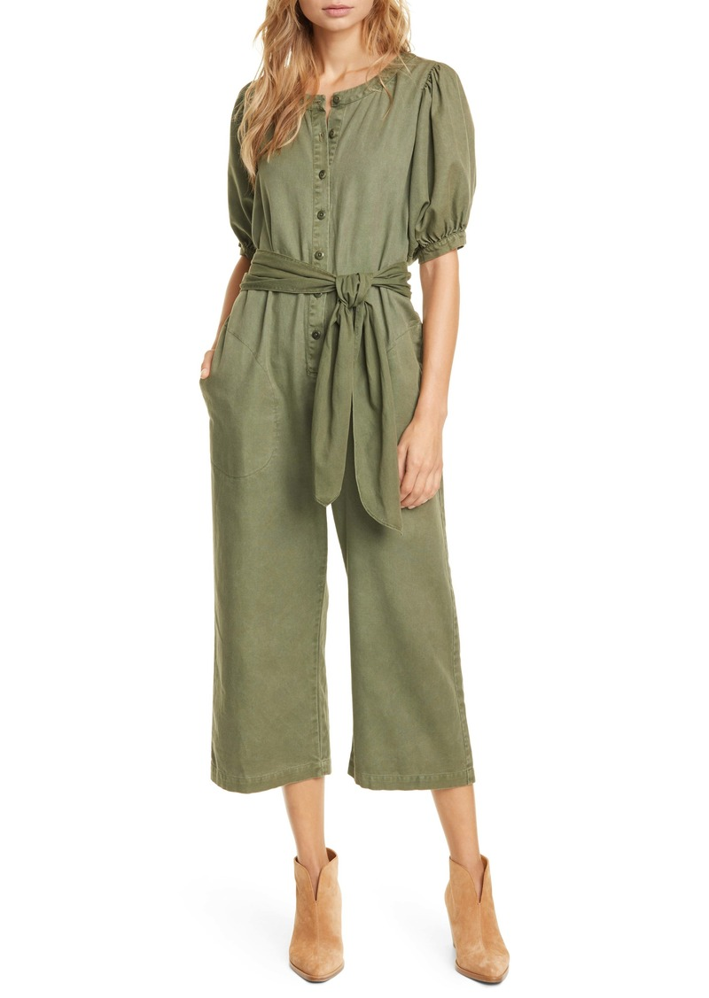 THE GREAT. The Homeroom Cotton Jumpsuit