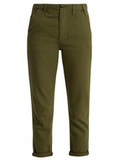 The Great The Miner low-slung cotton trousers