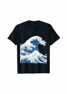 The Great Wave off Kanagawa Japanese Art T-Shirt