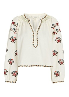 The Great The Passage Embroidered Blouse