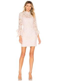 THE JETSET DIARIES Frangapani Lace Mini Dress