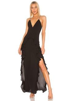 THE JETSET DIARIES Light My Fire Maxi Dress