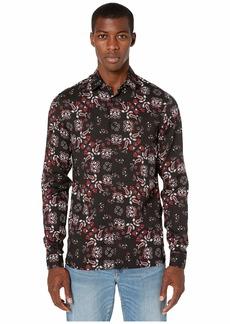 The Kooples Bandana Print Button Down Shirt