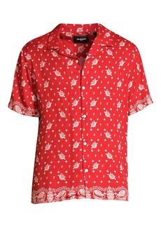 The Kooples Bandana Print Shirt