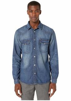 The Kooples Blue Denim Shirt