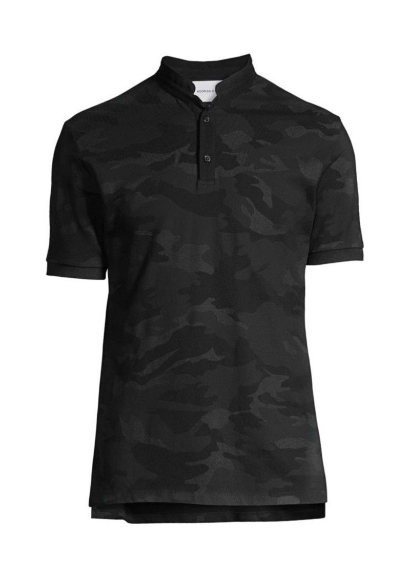 The Kooples Camouflage Polo Shirt