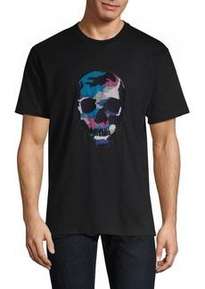 The Kooples Camouflage Skull Tee