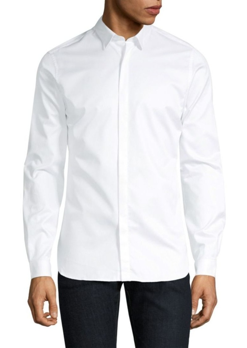 The Kooples Casual Cotton Button-Down Shirt