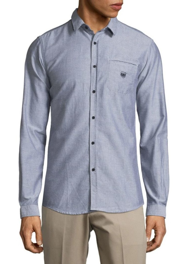96c18695 The Kooples Chambray Casual Button-Down Shirt | Casual Shirts