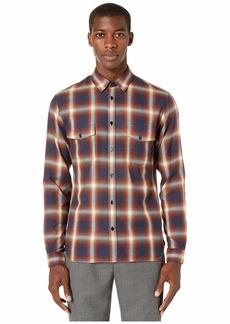 The Kooples Check Print Button Down Shirt