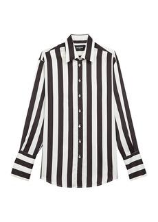 The Kooples Chemise Stripe Blouse