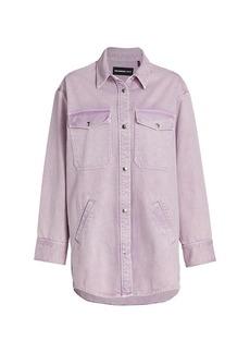 The Kooples Denim Long-Sleeve Shirt