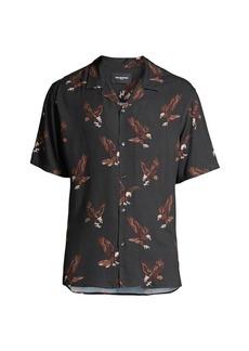 The Kooples Eagle Short Sleeve Sport Shirt