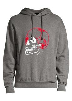 The Kooples Embroidered Skull Hoodie