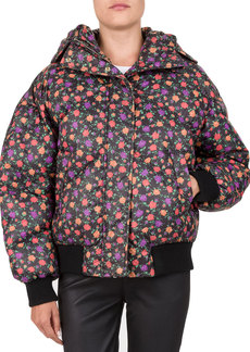 The Kooples Floral-Print Down Jacket