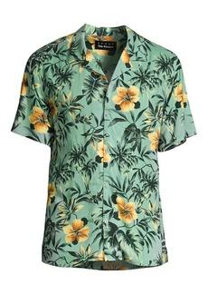 The Kooples Floral Print Shirt