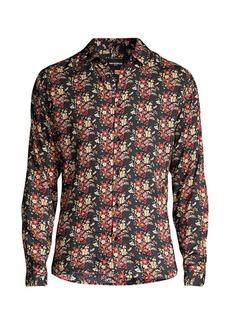 The Kooples Floral-Print Shirt
