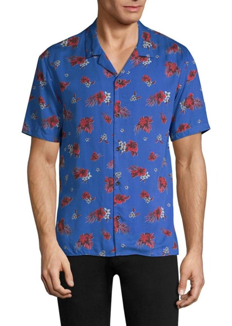 bf8b6770 The Kooples Hawaiian Button-Down Shirt | Casual Shirts