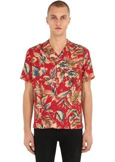 The Kooples Hawaiian Printed Viscose Shirt