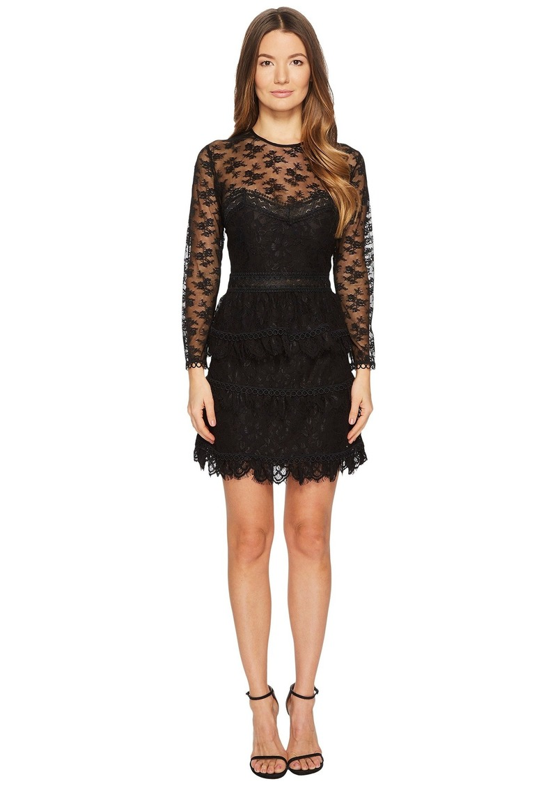 The Kooples Lace Dress with Floral Details