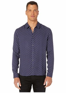 The Kooples Large Dot Print Button Down Shirt
