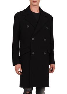 The Kooples Men's Double-Breasted Wool Coat