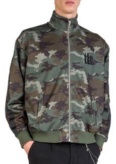The Kooples Men's Embroidered Logo Camouflage Technical Sweatshirt