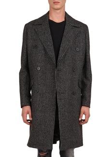 The Kooples Men's Oversized Check Print Coat