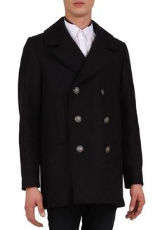 The Kooples Men's Wool-Blend Pea Coat