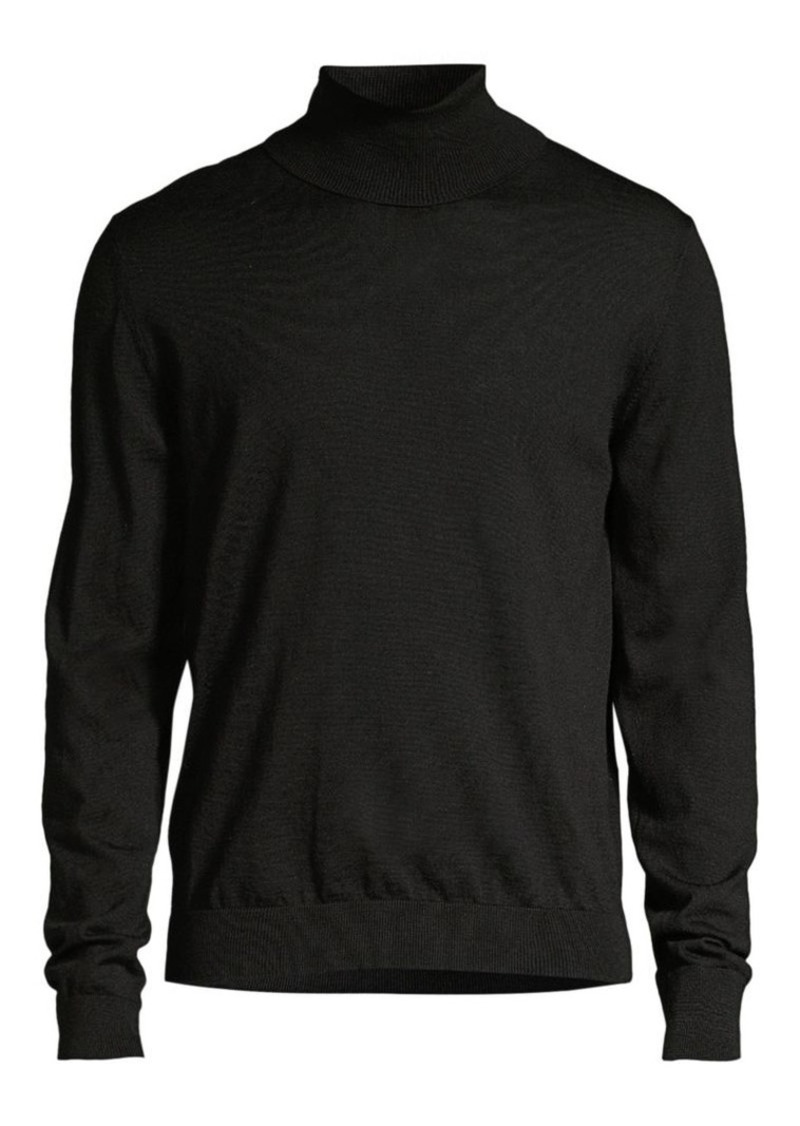 The Kooples Merino Wool & Cashmere Turtleneck