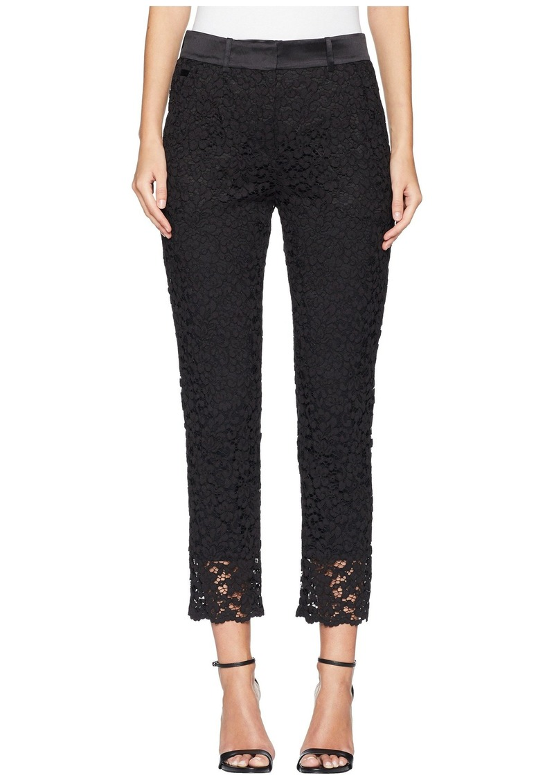 The Kooples Openwork Lace Trousers