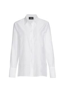 The Kooples Pleated Long Sleeve Shirt