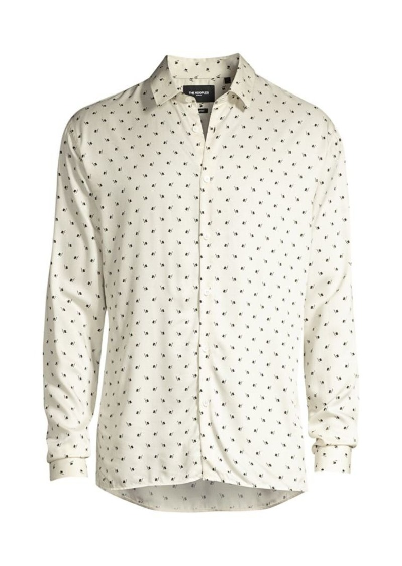 The Kooples Printed Sport Shirt