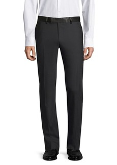 The Kooples Satin-Trim Suit Pants