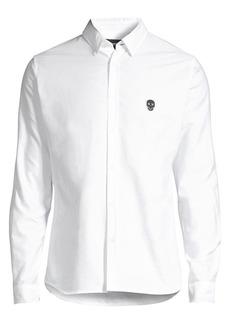 The Kooples Skull Appliqué Shirt