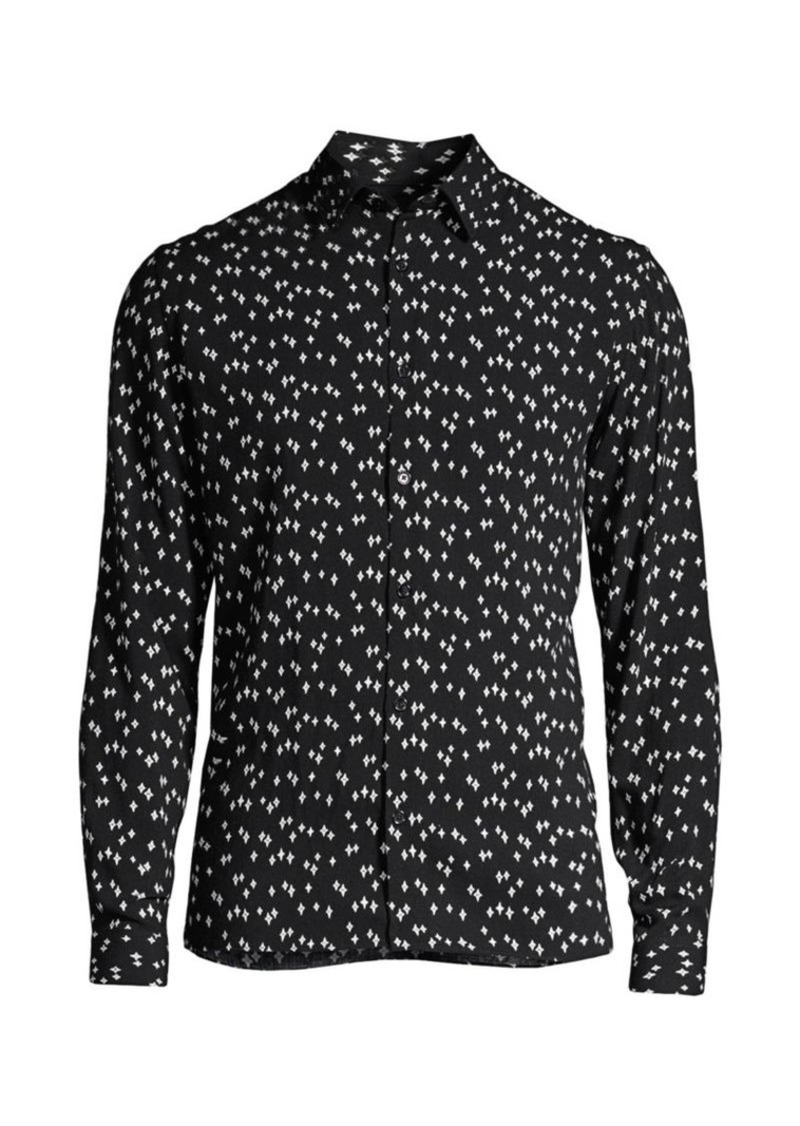 The Kooples Star-Print Shirt