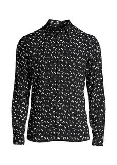 The Kooples Star-Print Shirt