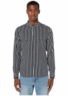 The Kooples Striped Print Button Down Shirt