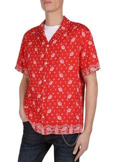 The Kooples Bandana Party Regular Fit Shirt