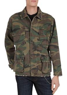 The Kooples Camouflage Military Jacket