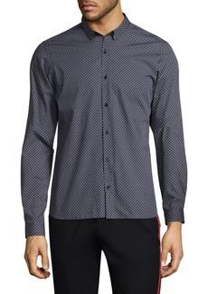 The Kooples Cotton Button-Front Shirt