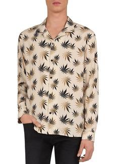 The Kooples Dark Leaves Regular Fit Shirt