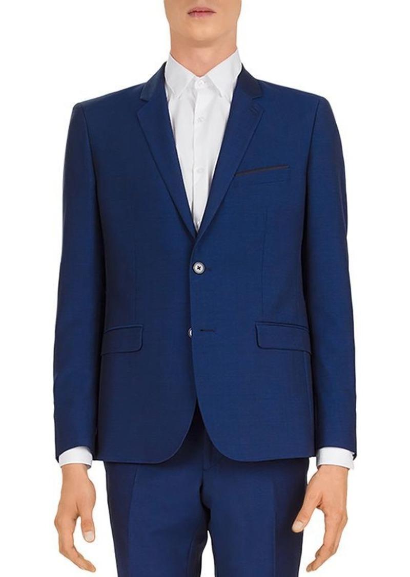 The Kooples Double Irregular Seams Slim Fit Jacket